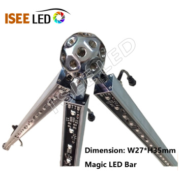 Programmable DMX512 Rigid RGB Led Wash Bar