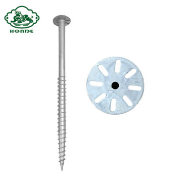 Galvanized Ground Screw Pile For Solar
