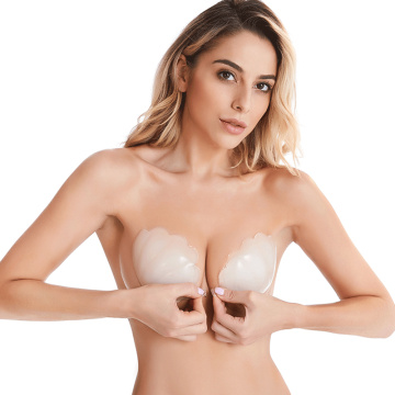 Front Closure Sticky Strapless Bra