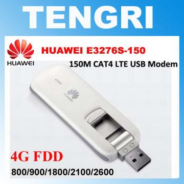 Original Unlocked Huawei E3276 E3276s-150 150Mbps 4G LTE USB Modem 3G WCDMA USB Dongle Mobile Broadband Data Card PK E8278 E3372