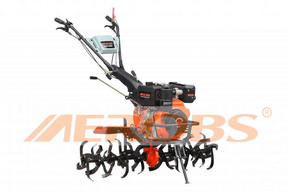 BSD1350F- High-efficiency Gearing Transmission- Tiller with Diesel Engine