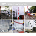 Galvanized 30m 35m High Masts
