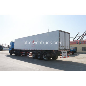 3Alxes 15m refrigerated van semi-reboque a venda