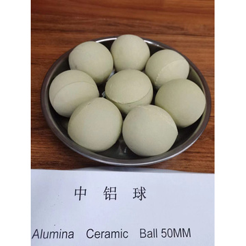 Porcelain Support Media Alumina Ceramic ball Alkaline