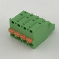Front Plug spring female terminal block pitch 5.08MM