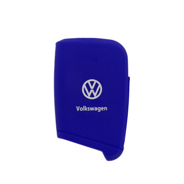 Embossed silicone car key cover golf 7
