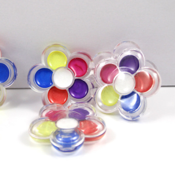 Flower With Six Different Color Kids lip Balm