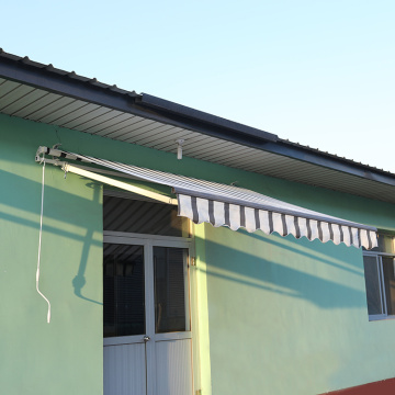 Retractable arms awning 2.5*1.5M Green