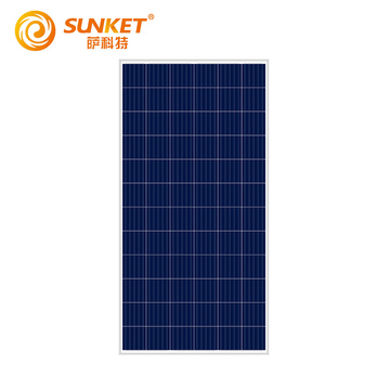 300W Poly Solar Panel compared with Suntech
