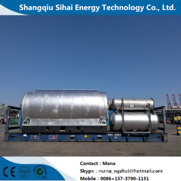 High performance pyrolysis machine for plastic