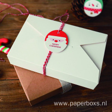 Simplicity envelope style Christmas Cookie Packaging box