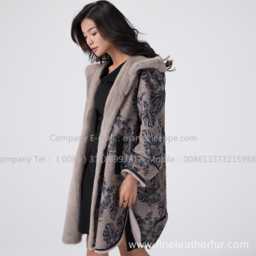 Kopenhagen Mink Fur Coat Winter