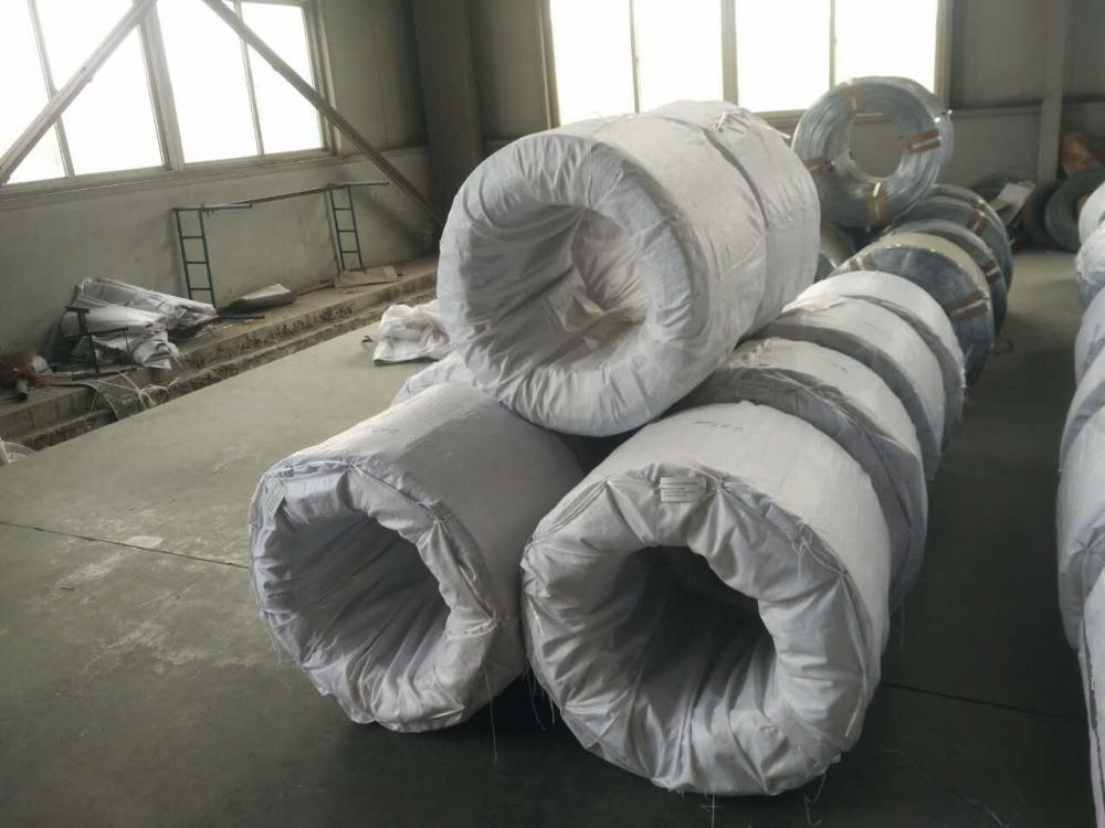 70-80g/sqm Galvanized Wire Supplied to Latin America