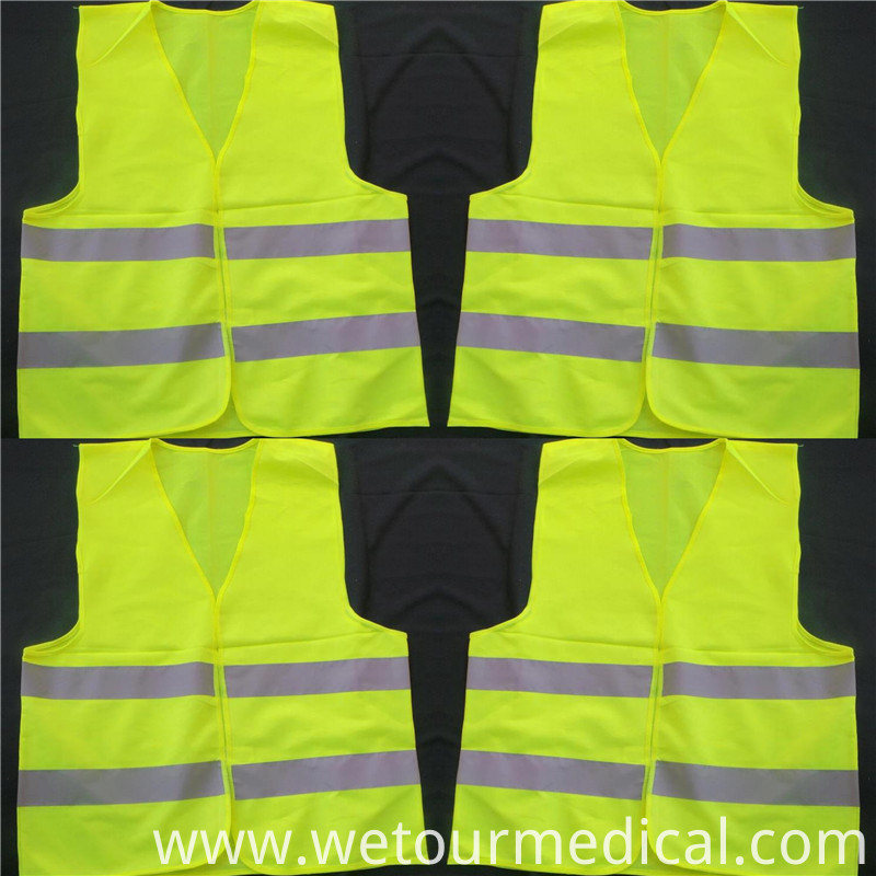 Yellow Protective Reflective Safety Vest