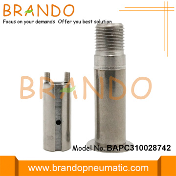 Flange Tube Seat 10.1mm OD Stainless Steel Plunger