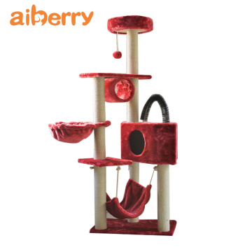 Aiberry Diy Wooden Cat Tree Furniture