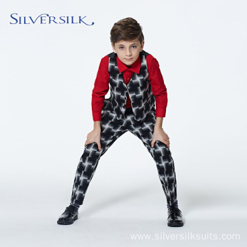 2 Piece Wholesale Vintage Kids Slim Fit Suit