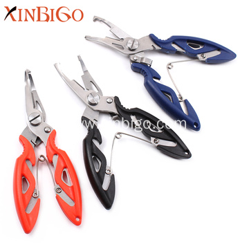 Hot Sale Curved Nose Mini Fishing Pliers Scissors