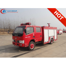 Brand New Dongfeng Double Cabin 2500litres Fire Truck