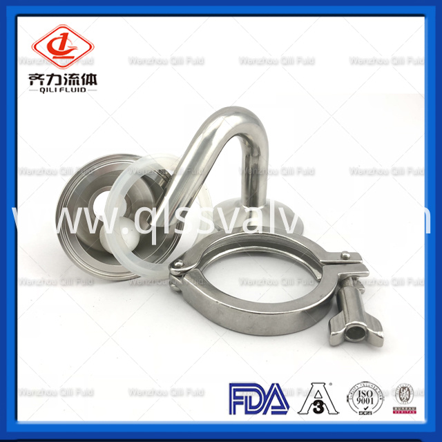 Sanitary Stainless Steel Air Release Valve 2