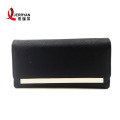 High Quality Black Leather Travel Purse Wallets