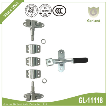 Small Van Rear Door Lock With Forged Handle