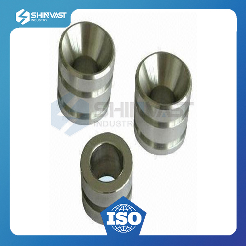 Machining steel metal parts