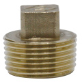 Threaded Brass Male Plug