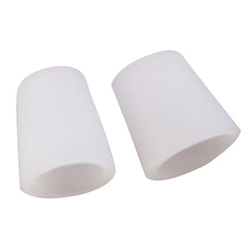 2PcsTransparent Gel Fingers Protector Corn Corrector Hammer Toe Separator Foot Suport