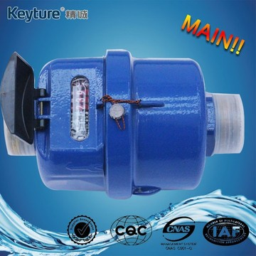 Volumetric Rotary Piston Brass Body Water Meter