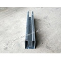 Double Deck Shutter Door U Guide Rail Machine