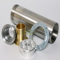 Machined aluminum alloy and brass sleeve Components