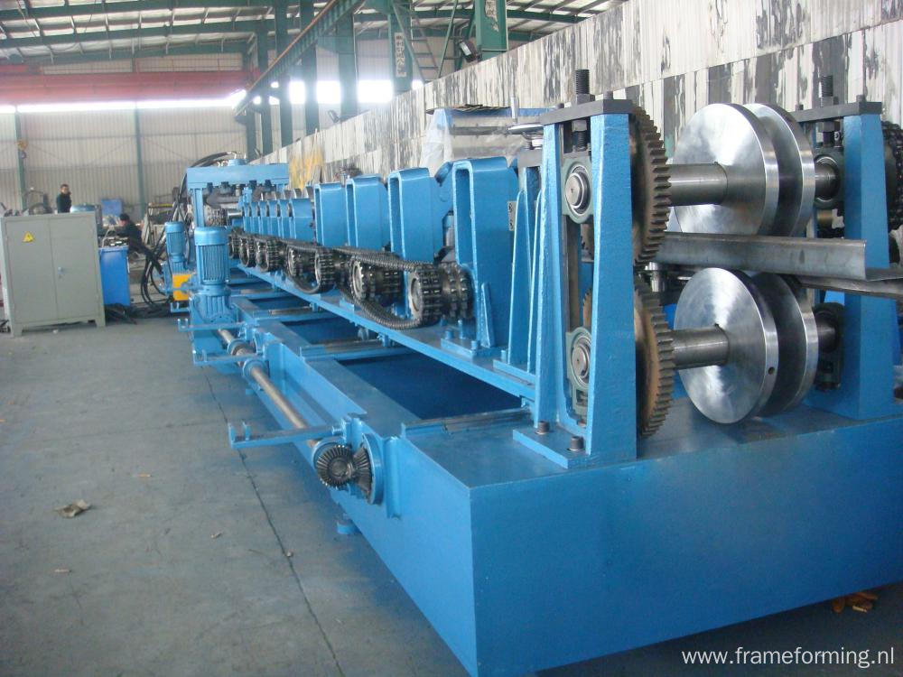 Cee And Zed Purlin Forming Machine