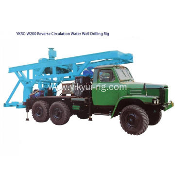 Turnable Reverse Circulation RC rotary drilling rig