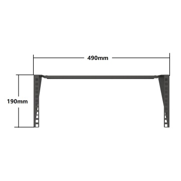 1U Vertical Wall Mount Bracket