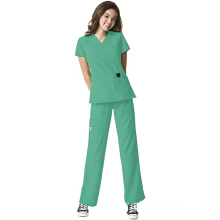 Four-Stretch Women's Scrub Set Bundle