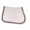 Polycotton Fish Pattern Saddle Pads
