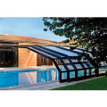 Outdoor Retractable Roof Swimming Pool Enclosure