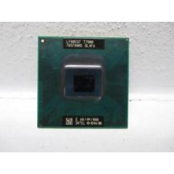 Original lntel Core 2 Duo T7800 CPU Socket 479 (4M Cache/2.60GHz/800 MHz/Dual-Core) Laptop processor free shipping