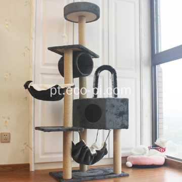 Condomínio Catcus Escalada Arranhando Cat House Tree Tower