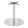 Stainless Steel Smoothly Surface Dining Table Base