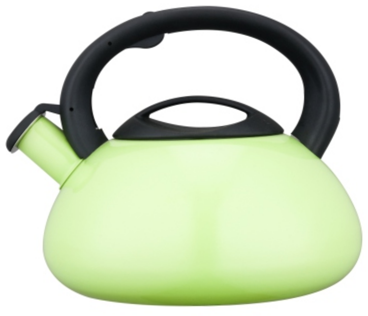 KHK038 3.5L Stainless Steel Whistling Teakettle with color painting
