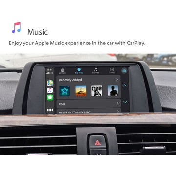 Module automatique Android Cartrend WiFi sans fil Apple Carplay box pour Mini Cooper