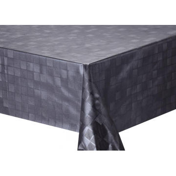 Solid Embossed Fabric Tablecloth Color
