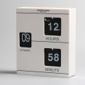 Libro blanco Flip Clock para decorar