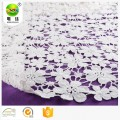 white african polish cotton chemical embroidery lace fabric