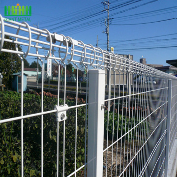 BRC welded Wire Double Circle Fencing For Park