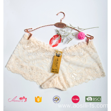 AS-121 sexy transparent ladies sexy boyshort underwear transparent panties