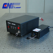single frequency laser for holography