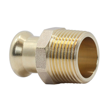Brass Press Male Adapter
